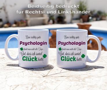 Eine gute Psychologin... - Tasse - Kaffeebecher - Geschenk – Bild 3