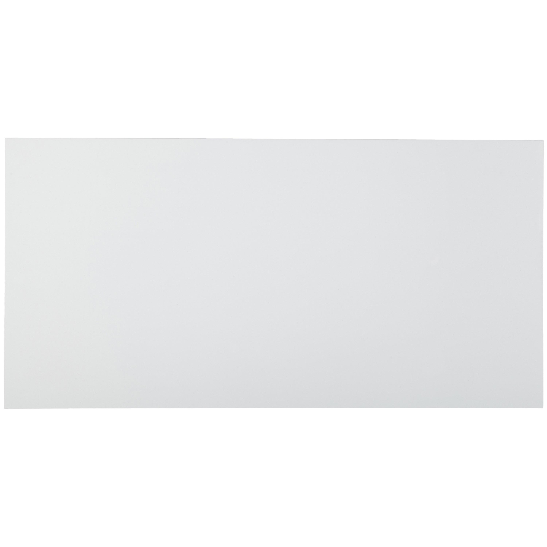 Musterprobe Wandfliese Weiss Glänzend  – Bild 1