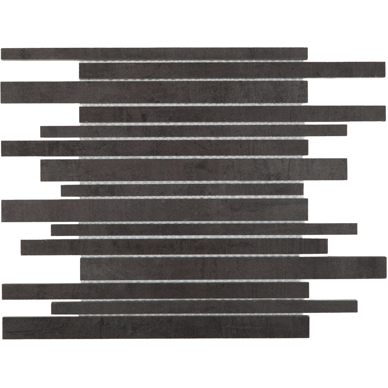 Musterprobe Mosaik Stäbchen Pencil Black   – Bild 1