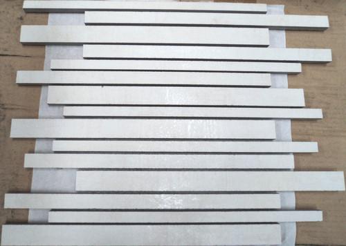 Musterprobe Mosaik Stäbchen Pencil White
