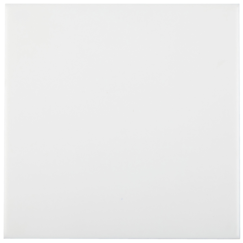 Musterprobe Blanco Weiss glänzend 15x15 cm – Bild 1