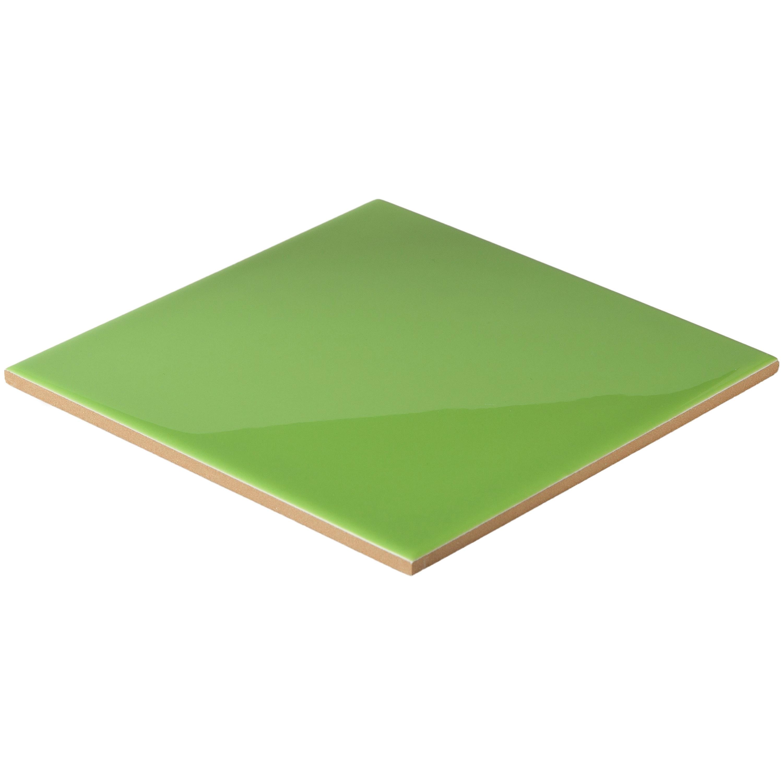 Musterprobe Pistacho glänzend 15x15 cm – Bild 2