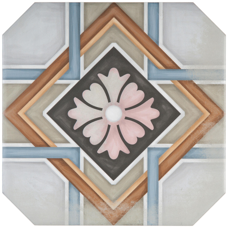 Musterprobe Challs Ottagona multicolor  – Bild 1
