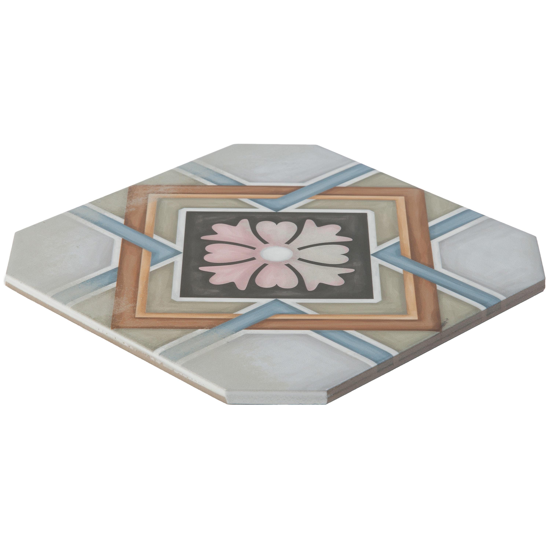 Musterprobe Challs Ottagona multicolor  – Bild 2