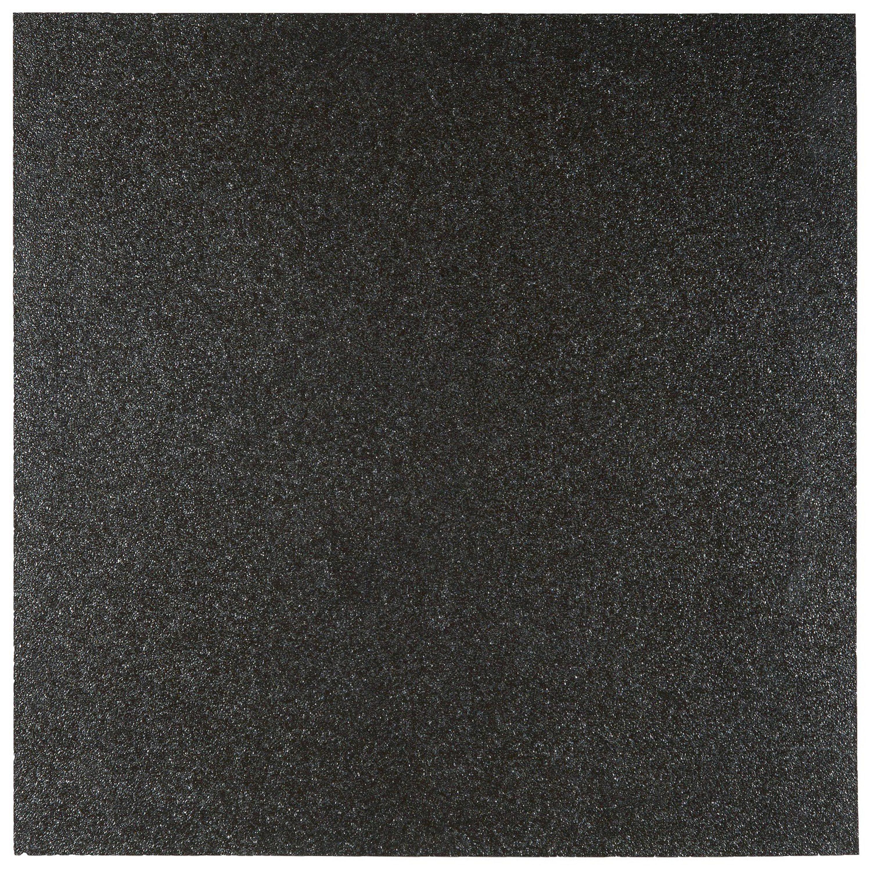 Musterprobe Star city schwarz mit Glitzereffekt  – Bild 1