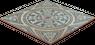 Fliese Weiß Blau FS1 Bodenfliesen Retro Wandfliesen Vintage 45x45cm – Bild 3