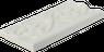 Fliesen Bordüre Keramik Borte 7,5x15cm Wandfliese glänzend Creme – Bild 2