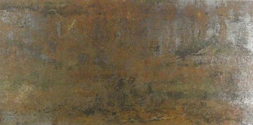 Fliese Metalloptik Wandfliese Braun Bodenfliese Oxido Bronce 30x60cm