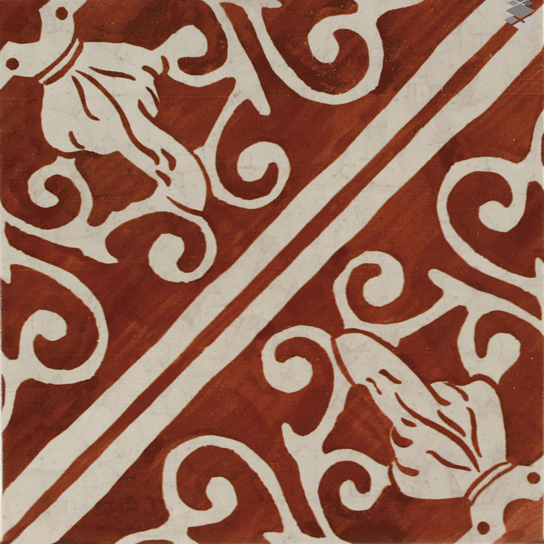 Bodenfliese Küche mediterrane Fliese 20x20cm Wandfliese Lisboa Red– Bild 2