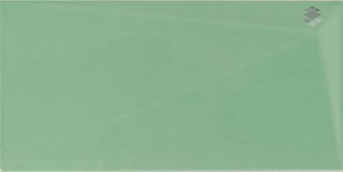 Metrofliese Grün 10x20cm Diamond Emerald 3D Effekt
