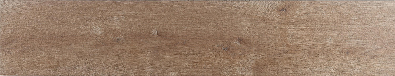 Fliese in Holzoptik Bodenfliese Merbau Viejo 23 x 120 cm – Bild 1