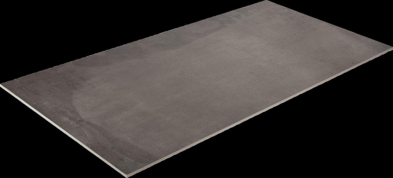 Bodenfliese Feinsteinzeug grau Lehmoptik ACUSTICO GREY 60 x 120 cm– Bild 3