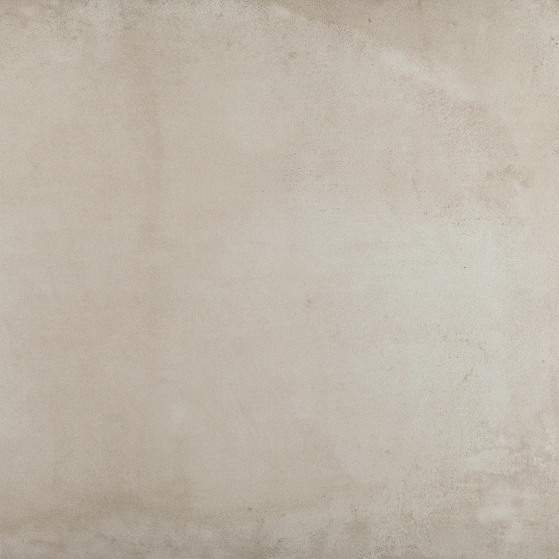 Bodenfliese und Wandfliese Lehmoptik Feinsteinzeug ACUSTICO WHITE 60 x 60 cm – Bild 2