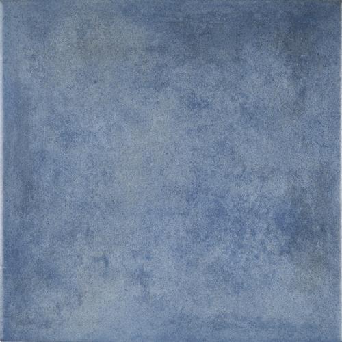 Feinsteinzeug Fliesen Terrakotta Optik Blau Mastri Blu Bodenfliese 33,3x33,3cm  001