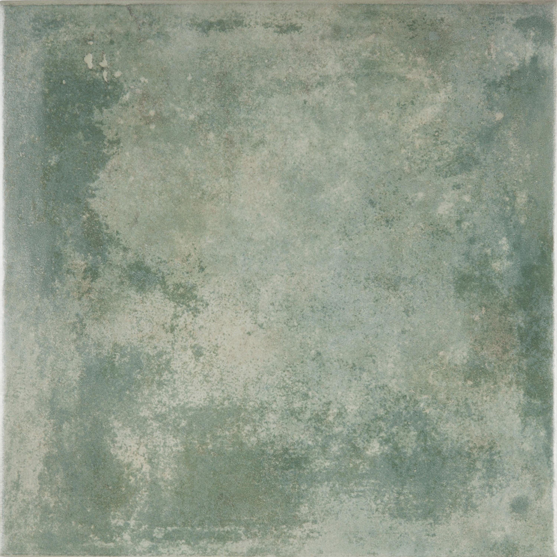 Feinsteinzeug Fliesen Terrakotta Optik grün Mastri Verde Bodenfliese 33,3x33,3cm  – Bild 2
