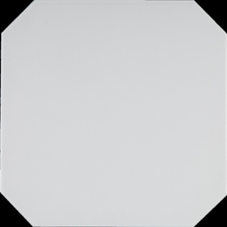 Achteck Fliese Weiß OCTÓGONO CABARET NACAR 20 x 20 cm– Bild 2