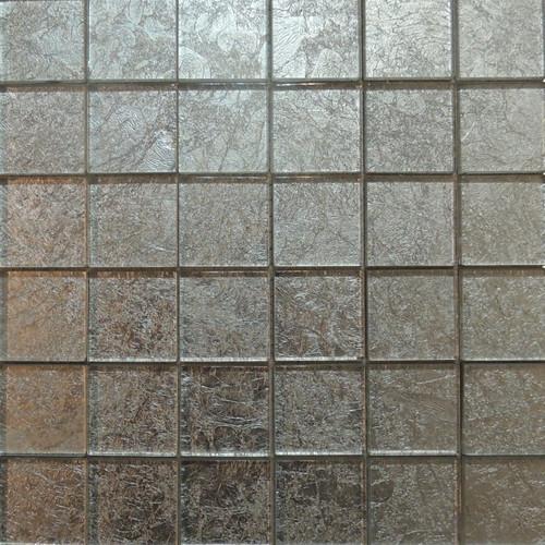 Mosaik Condor silber 30 x 30 cm