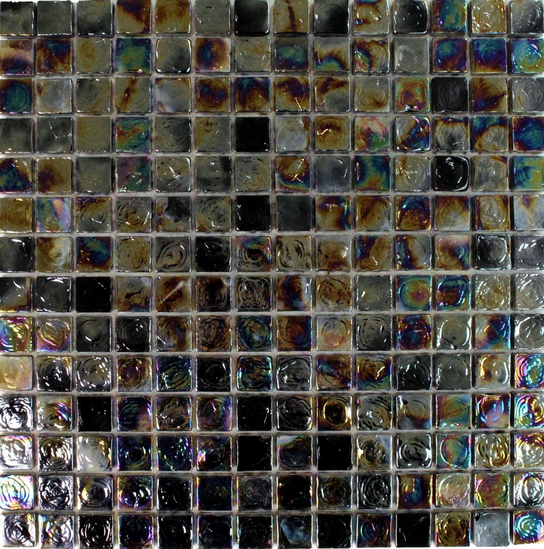 Mosaic Petrol Black – Bild 1