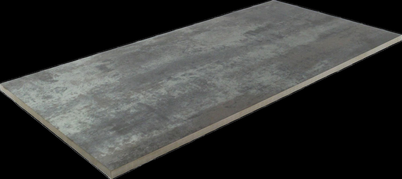 Fliese Metalloptik Silber Metallfliese 30 x 60 cm Oxido silver – Bild 2