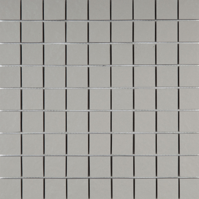 Mosaik Grau Wandfliese Mosaikfliesen Boden Concreta Cemento 29,8x29,8 cm – Bild 1
