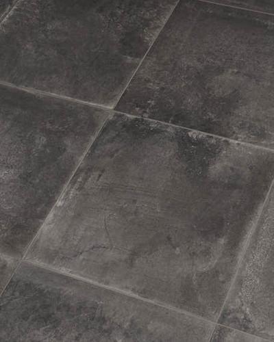 """Bodenfliese Betonoptik grau Fliese """"Used Look"""" Dust black 30 x 30 cm"""