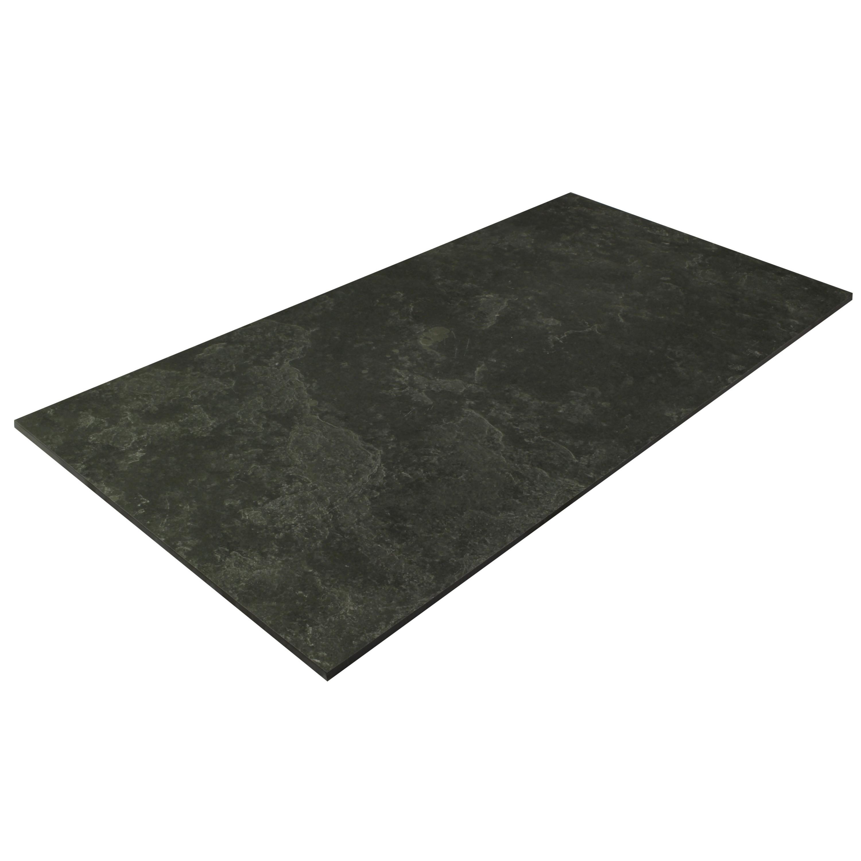 Floor Tile Slate Optical 45 x 90 cm Mystique Black Natural – Bild 3