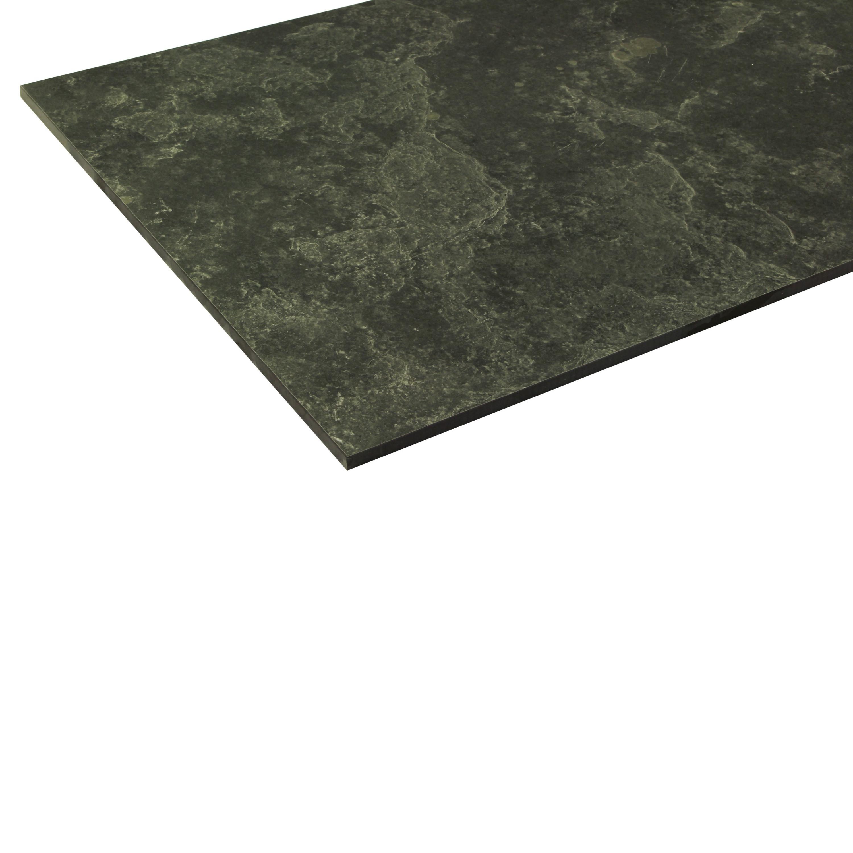 Floor Tile Slate Optical 45 x 90 cm Mystique Black Natural – Bild 4
