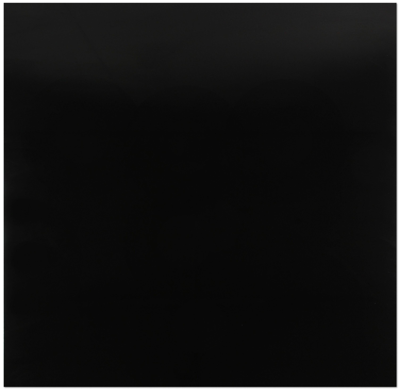 Bodenfliese schwarz glänzend 60 x 60 cm Feinsteinzeug Super Black  – Bild 1