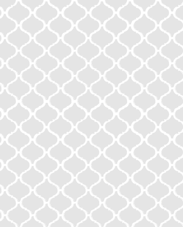 Wandfliese weiß Arabesque Silk Gesso Retrofliese 14,5 x 14,5 cm – Bild 1