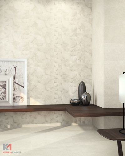Wandfliese beige Shape Icon natural 30x90 cm