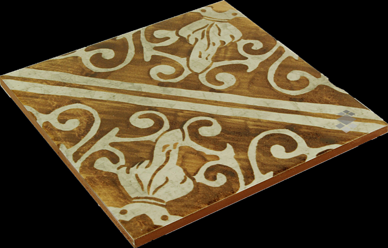 Bodenfliese Küche ocker mediterrane Fliese maurisch 20x20cm Lisboa Ochre Keramikfliese – Bild 3