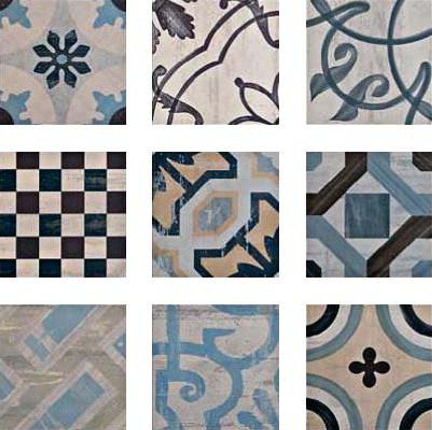 Floor Tile Wall Tile Retro Tile Cementina Color Mix 20x20 cm– Bild 3