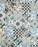 Bodenfliese Wandfliese Retro Fliese Cementina Color Mix 20x20 cm – Bild 4