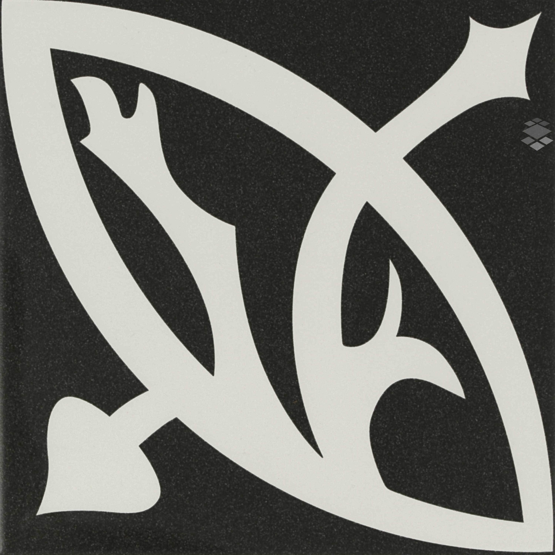 Bodenfliese/Wandfliese Zelie Noir 20x20cm Küche Bad – Bild 2