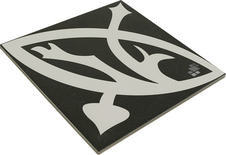 Bodenfliese/Wandfliese Zelie Noir 20x20cm Küche Bad– Bild 3