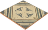 Pav. Padua Bodenfliese Wandfliese Küchenfliese Retro Vintage Fliese 20x20 cm – Bild 3