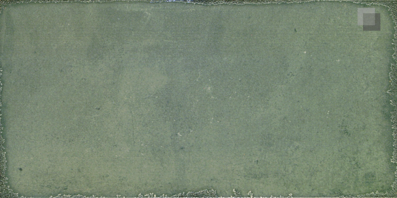 Wandfliese Retro Grün Vintage U-Bahn Fliese Esenzia Mare 15 x 30 cm – Bild 2