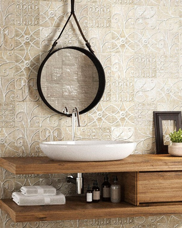 Floor Tile / Wall Tile Pav Pastime Antique Tile Wood Optic 20 x 20 cm