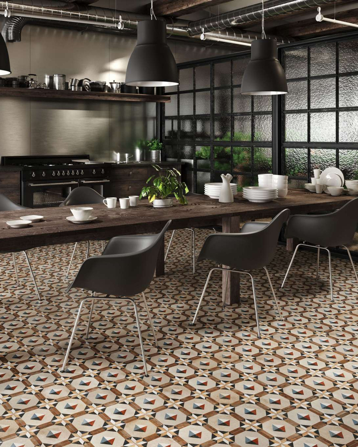 Floor Tile FS Comillas 33x33cm Tiles Vintage Kitchen Bath