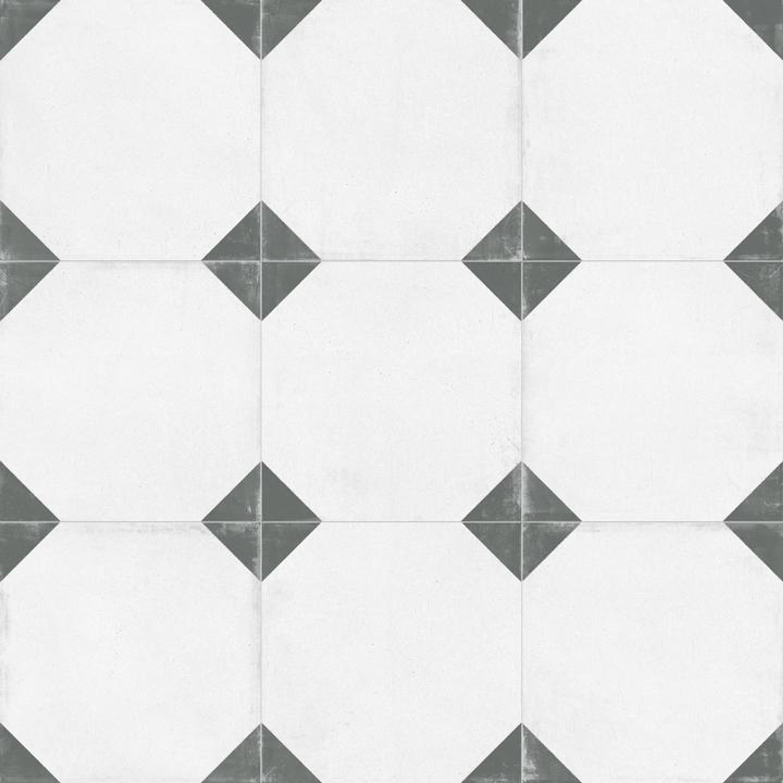 Bodenfliese Zementfliesenoptik Retro Tango Crespo Natural 59,2x59,2 cm – Bild 2