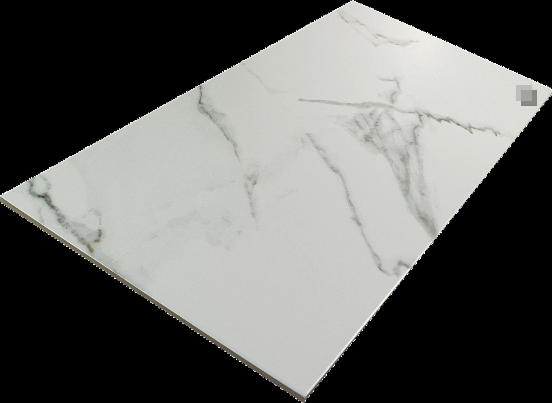 Wandfliese Marmoroptik Calacatta weiß marmoriert matt 30 x 60 cm  – Bild 3