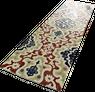 """Orientalische Wandfliese """"Arabische"""" Wandfliese Tawriq Brown Zaida 29,75 x 99,55 cm  – Bild 2"""