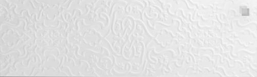 Oriental Wall Tile Arabian Wall Tile Tawriq White Zaida 29,75 x 99,55 cm