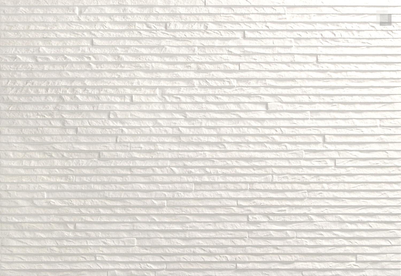 Dekorfliese weiß strukturiert Wandfliese Montecarlo-B 45,5x67,5 cm– Bild 2
