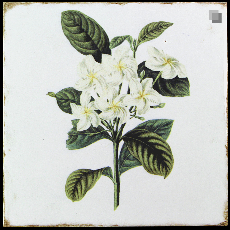 Dekorfliese Blumen Nostalgische Fliesen Forli flowers decor set 20 x 20 cm – Bild 4