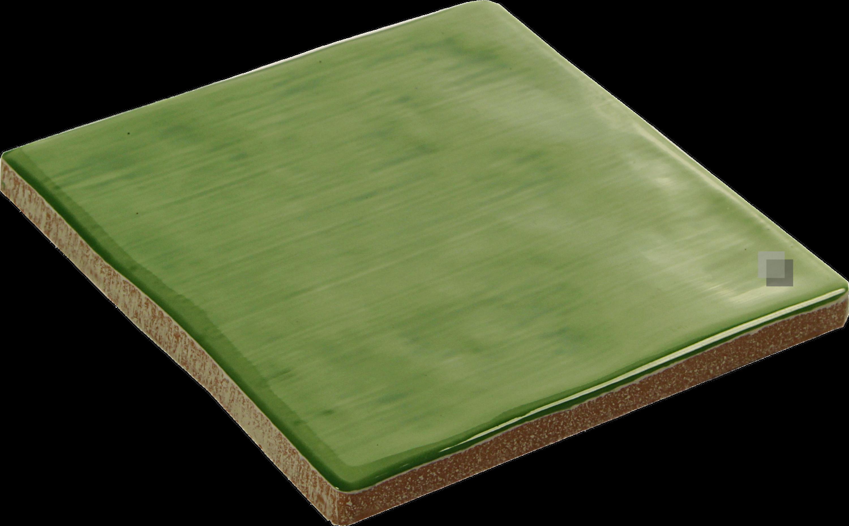 Wandfliese Landhaus Fliese Küche Bad Aranda Verde 13 x 13 cm – Bild 2