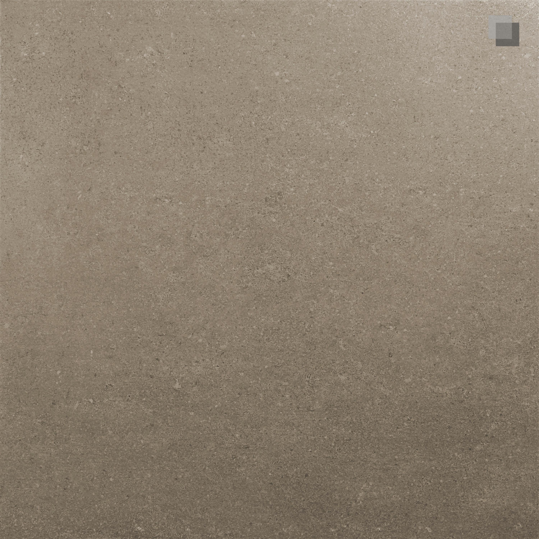 Fliese Feinsteinzeug  Betonoptik Smart Taupe 60,4x60,4 cm – Bild 1