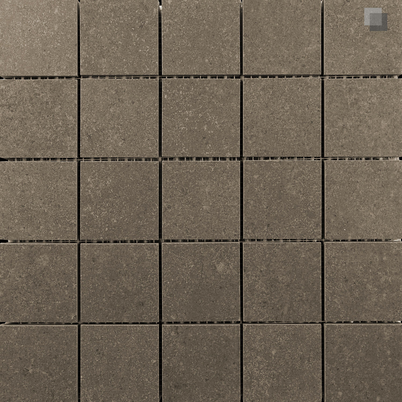 Mosaik Betonoptik Mosaikfliese Braun Smart Taupe 30x30 cm – Bild 1