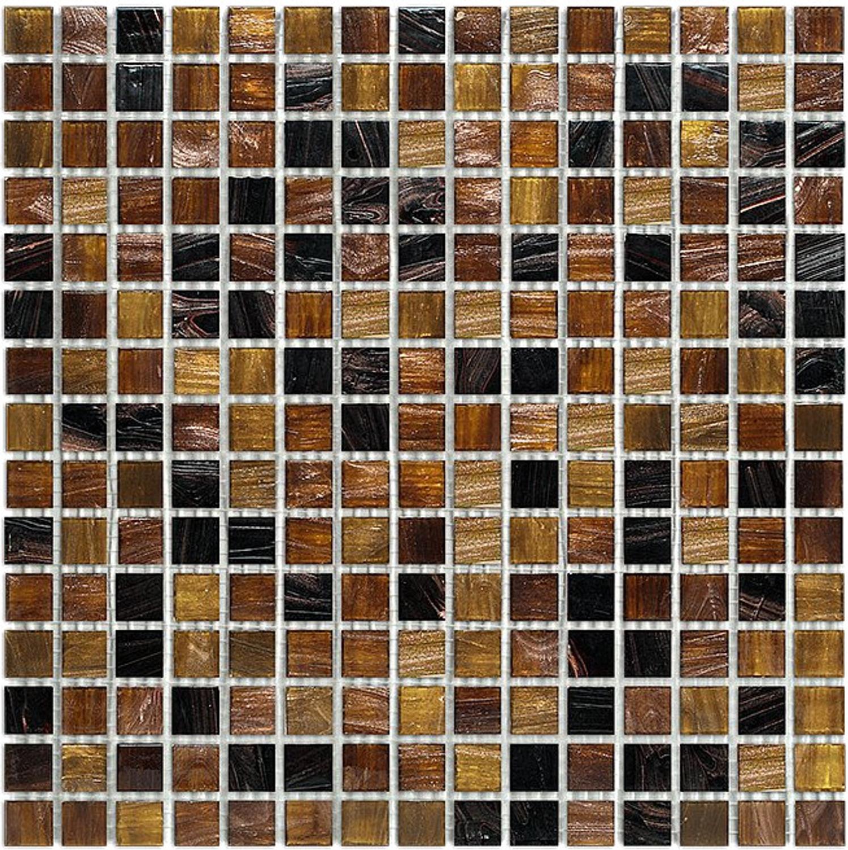 Exclusiv Mosaic Tile Jade Mosaic 014 Brown 32,7x32,7 cm