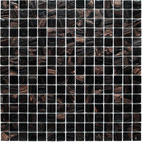 Exklusives Mosaik Jade 001 dunkelbraun 32,7x32,7 cm